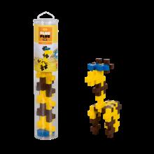 Plus-Plus BIG i rør - Giraff, 15 stk