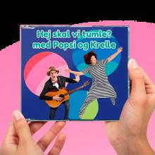 Popsi og Krelle CD - Hei skal vi tumle?