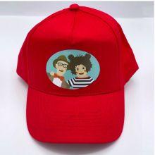 Popsi og Krelle Caps, Rød