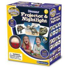 Projektor og nattlampe - Dinosaur