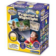 Projektor og nattlampe - Ville dyr