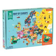 Puslespill, 70 brikker - Europa