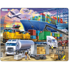 Larsen puslespill - Containerhavn, 37 brikker
