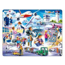 Larsen puslespill - Flyplassen, 42 brikker