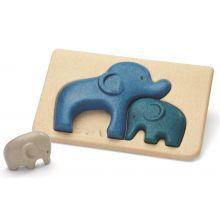 Puslespill m. elefanter