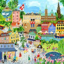 Puslespill med 1.000 brikker – København