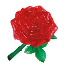 Puslespill 3D krystall - Rose, 44 deler
