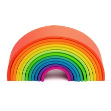 Regnbue i silikone - Basis farger, 12 deler
