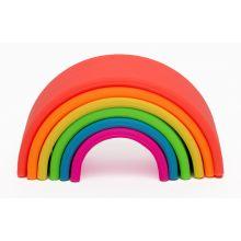 Regnbue i silikone - Basis farger, 6 deler