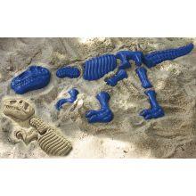 Sandformer - Dinosaur-skjelett, 10 deler