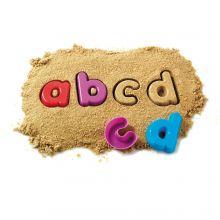 Sandformer - Små bokstaver, 26 stk
