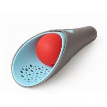 Sandlek - Cuppi: Spade, sikt & ball, grå