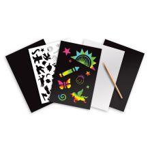 Scratch Art - Skrapekunst Regnbue