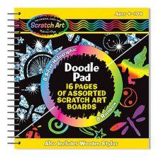 Scratch Art - Skrapekunst Spiralblokk