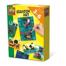 Scratch Art - Dyrekunst