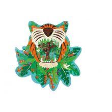 Silhuettpuslespill m. 59 brikker - Tiger