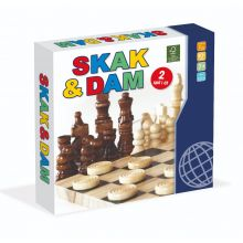 Sjakk & Dam i tre