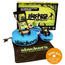Slackers Slackline inkl. hjelpe line