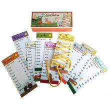 Snør Tabellen - Snørekort til 2-10 tabellene
