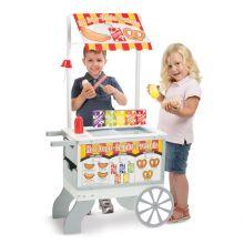 Snackbod på hjul m. is og pølser