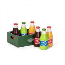 Lekemat - Sodavann i kasse, 6 stk.