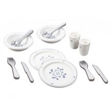 Spiseservice i tre - Royal Design - 12 deler