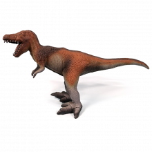 Dino - T-Rex i naturgummi
