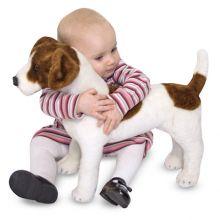Bamse Plysj - Hund Jack Russell Terrier