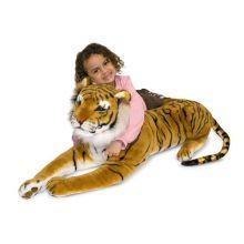 Tøydyr i plysj - Tiger