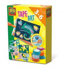 Tape kunst - Dyr