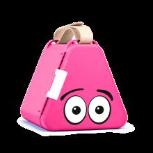 Teebee boks - Rosa