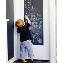 Tegnetavle til veggen - Flyttbar(45 x 100 cm.)