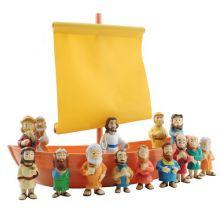 Bibelsk Figursett – Båten fra Galilea