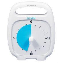 Time Timer PLUS Hvit (14x18 cm.) - 20 min.