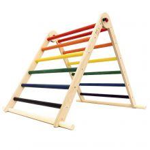 Triclimb klatrestativ - Regnbue