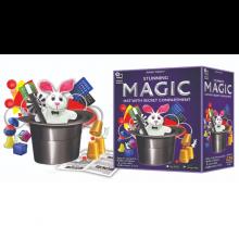 Tryllesett - Magisk hatt med 125 tricks