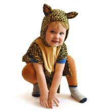 Utkledning - Babydrakt, Leopard