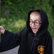 Utkledning - Harry Potter-kappe, (Str 5-6 år)