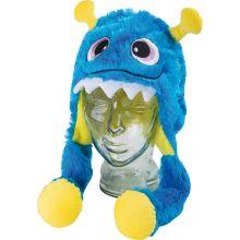 Udklædning - Hat med monster (blå)