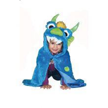 Utkledning - Kappe, blått monster