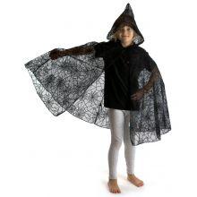Kostyme - Kappe med edderkoppespinn