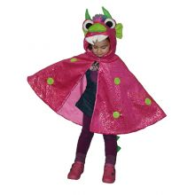 Utkledning - Kappe, pink drage