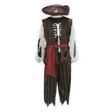 Utkledning - Pirat med bukser, vest og hatt