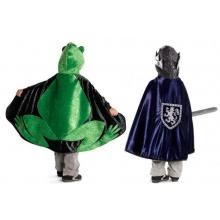 Utkledning - Vendbar kappe Frosk/Prins