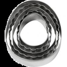 Utstikksformer - Egg, 5 stk