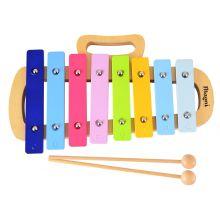 Xylofon i tre og metall