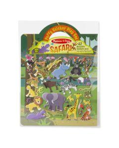 Aktivitetsbok med klistremerker - Safari