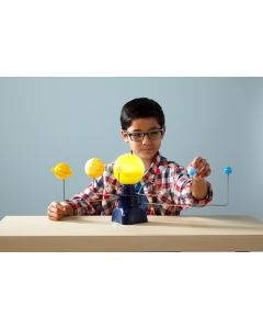 Solsystem - Motorisert bordmodel