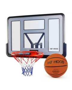 Basketkurv Pro på plate inkl. ball - My Hood
