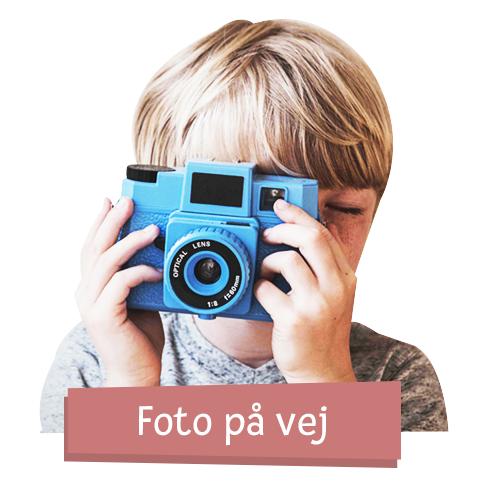 Fotoalbum i stof- til 10 billeder